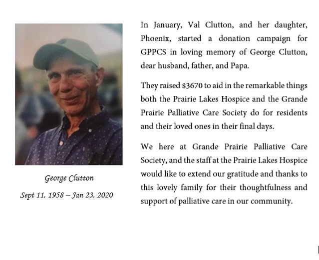 In Memory of George Clutton