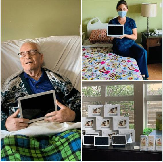 Weyerhaeuser Donation of Google Nest Hubs for Hospice